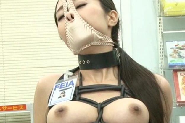 『ブフォッ!フガァァ!!』美人捜査官が敵組織に捕まり恥辱の性拷問!緊縛拘束され鼻フックの羞恥姿で徹底凌辱される!