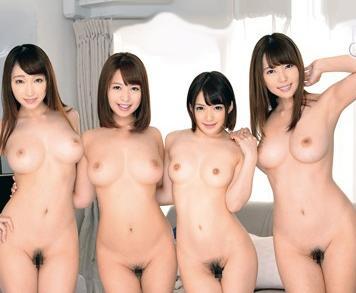『ねぇ…エッチしよ♡』入居先のルームメイトが美女ばかり!発情マンコが唯一のチンポを膣内射精で搾り取る痴女交尾!