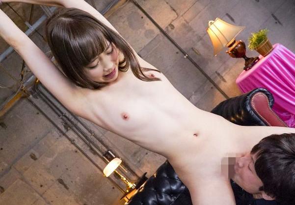 ◆陽向さえか◆痩身スレンダー美少女が拘束され痴態を晒し羞恥調教!2本のチンポに犯され悶え狂う3P乱交セックス!