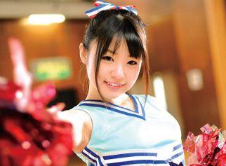 ◆つぼみ◆超人気女優が美少女チアガールに変身!極上エッチボディでチンポを元気にするコスプレセックス!
