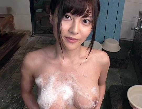 ◆松岡ちな◆巨乳女優と温泉旅行デートでエッチ三昧!露天風呂パイズリでフル勃起したチンポをブチ込みセックス開始!