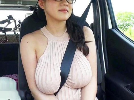 ◆澁谷果歩◆Kカップ100cmの巨乳メガネ美女とハメまくり旅行!野外で室内で痴態を晒し中出しセックスで悶絶!