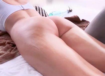 【金髪外人】29歳のロシア人巨乳美女に性感マッサージ!発情させられ我慢できないマンコに即ハメ膣内射精ファック!