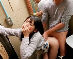 ◆さくらゆら◆エロカワ女優を騙して問答無用の即ハメ!場所を選ばす挿入される勃起チンポに声我慢でこっそり絶頂!