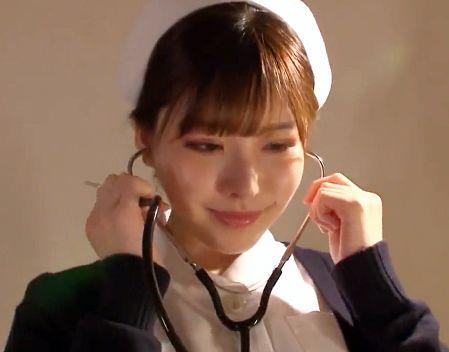 ◆深田えいみ◆淫乱ナースが入院患者のチンポに裏治療♡病室でふしだらに腰を振り中出しセックスでどっぷり搾り取る♡