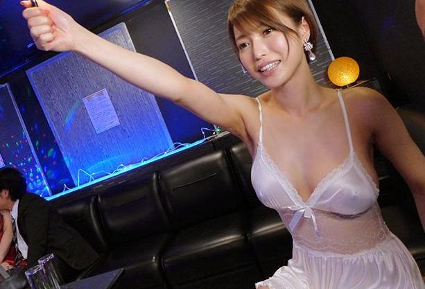 ◆君島みお◆巨乳女優が在籍するおっパブでまさかの本番行為♡お店にナイショでチンポをブチ込み夢の生ハメ中出し♡