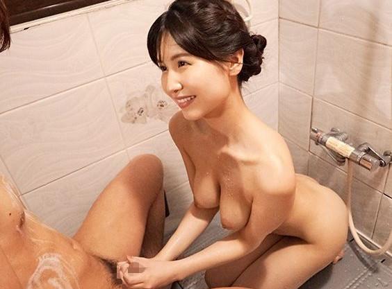 ◆桜空もも◆高級ソープで働くお姉ちゃんが弟相手にテク磨きww巨乳ボディとまさかの本番セックスに♡