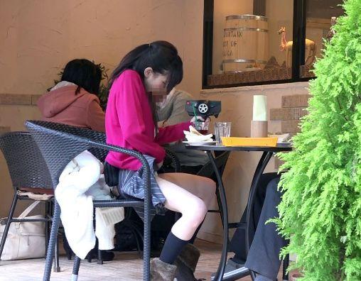 ◆跡美しゅり◆露出願望お姉さんにビッグバンローター投入!おしゃれなカフェでビクビク羞恥悶絶ww