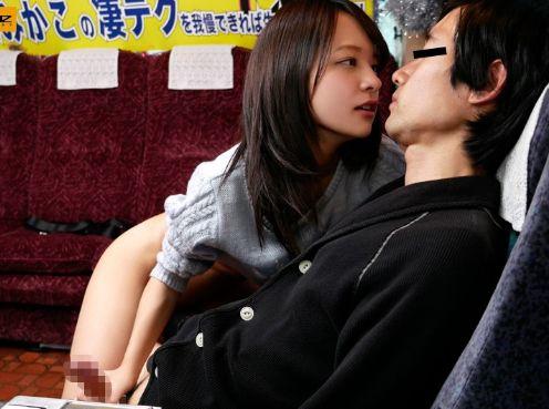 ◆あべみかこ◆スレンダー女優さんの凄テクでチンポ悶絶ww中出ししたくて必死に射精我慢する素人男!