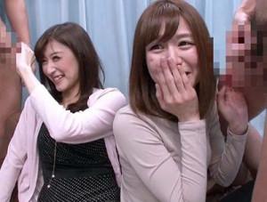 【MM号】エロすぎる団地妻たちが目の前のチンポに大興奮ww嬉々として咥え込んでねっとりフェラする奥さんたち♡