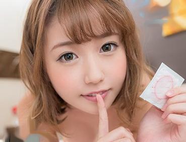 ◆望月あられ◆現役JDデリヘル嬢とまさかの本番♡お店にナイショで一線を越えてガチ悶絶のイチャラブ本気セックス♡