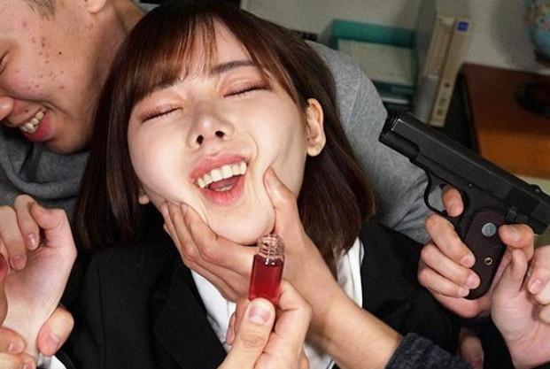 ◆深田えいみ◆エロカワ女捜査官がヤリサーに潜入して媚薬漬けにwwチンポに完堕ちして理性崩壊の肉便器セックス♡