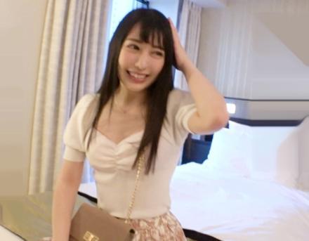 黒髪ロングのレンタル彼女と禁断の本番セックス成功ww22歳の美容部員とデートからホテルに誘ってエロボディを食べつくす!